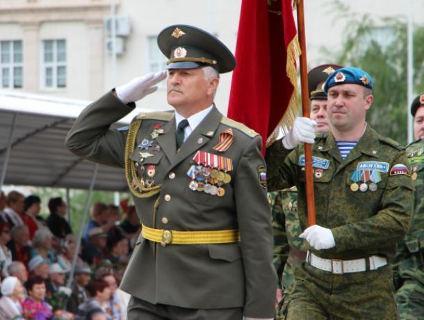 Видеоверсия главного парада в честь 73-летия Победы в Волгодонске