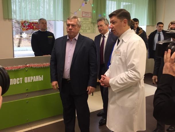 Губернатор Ростовской области Василий Голубев прибыл в Волгодонск с рабочим визитом