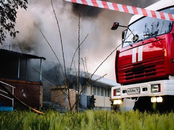 Пожар в частном доме в Цимлянском районе удалось потушить за 15 минут
