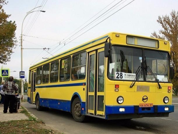 Дачные маршруты в Волгодонске выйдут на рейсы только по выходным дням
