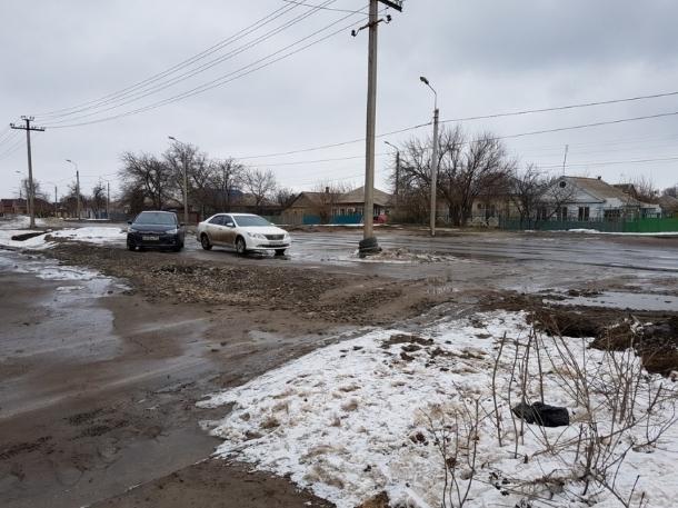 Ремонт дороги по улице Степной запланировали в текущем году в Волгодонске