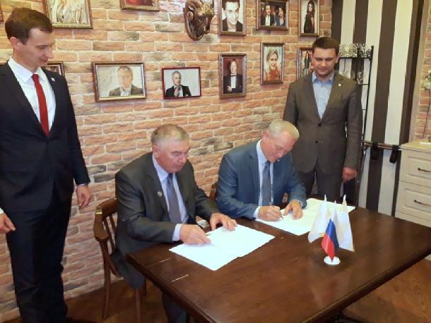 Волгодонск и Татарстан подписали соглашение о сотрудничестве в сфере промышленности