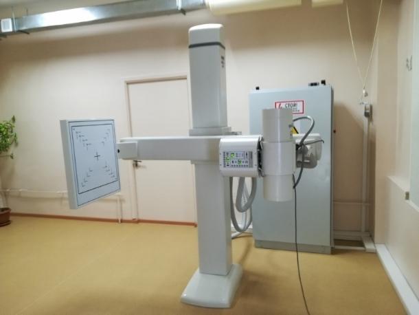 В поликлиниках Волгодонска заменили старые флюорографы на новые современные аппараты