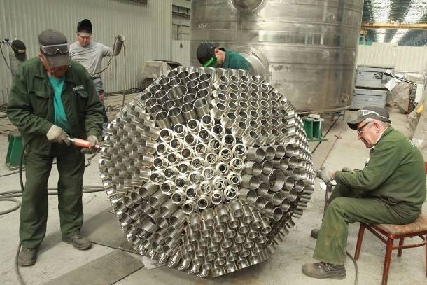Работники Атоммаша создали икосаэдр весом 600 кг  специально к ЧМ 2018
