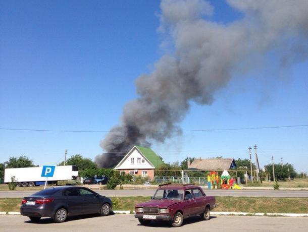 Окутавшую Волгодонск «мусорным дымом» свалку поджег неизвестный злоумышленник