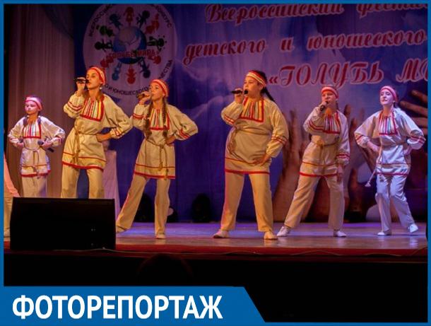 ФОТОРЕПОРТАЖ с закрытия всероссийского фестиваля творчества «Голубь мира»