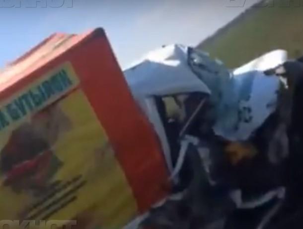 ДТП с двумя «Газелями» произошло на трассе «Волгодонск-Ростов»