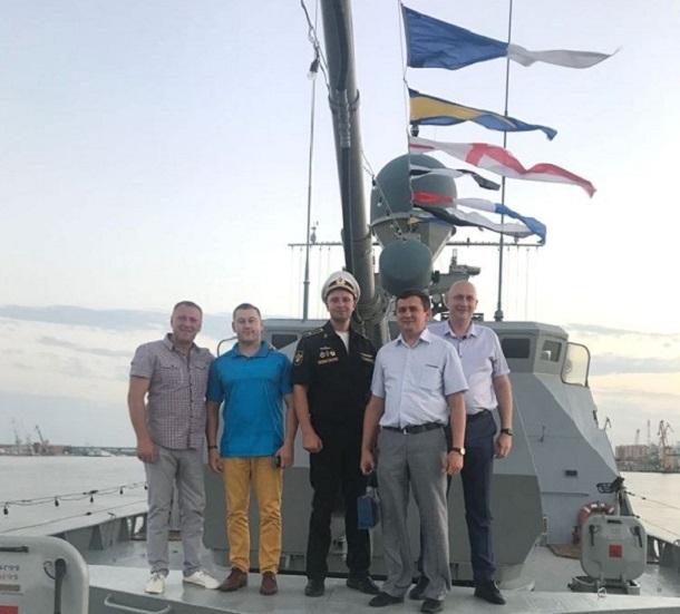 Волгодонские политики посетили корабли Каспийской флотилии в Астрахани
