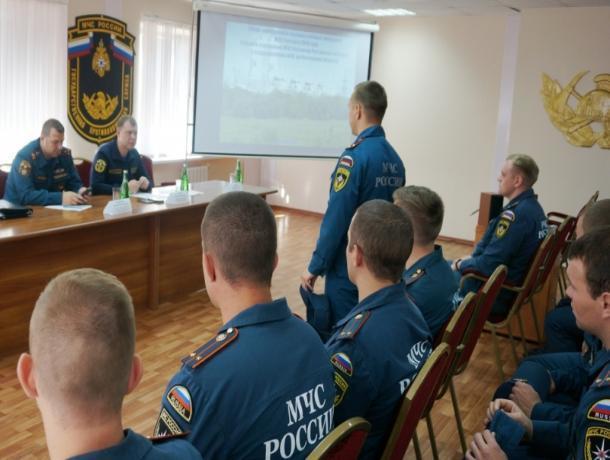 В Волгодонске состоялась встреча руководства Главного управления МЧС с молодыми офицерами