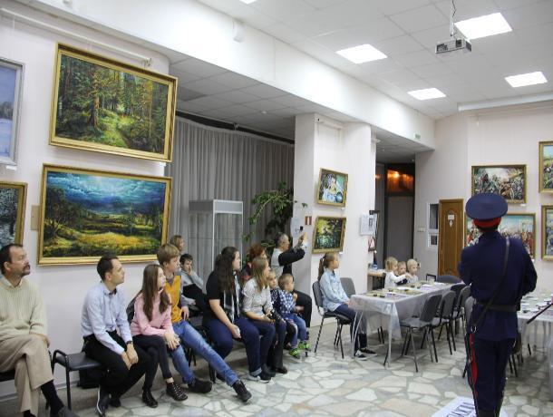 В Волгодонском художественном музее прошла Всероссийская акция «Ночь искусств»