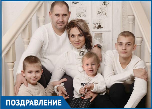 Известная в Волгодонске имидж-дизайнер стала мамой в четвертый раз
