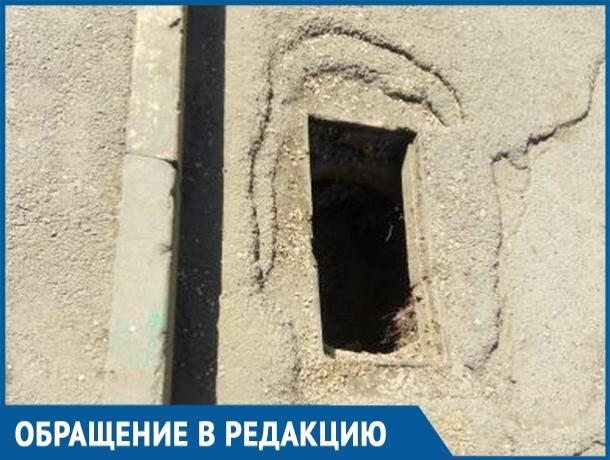 Дети могут угодить в яму и получить серьезную травму, - волгодонцы об открытой ливневке