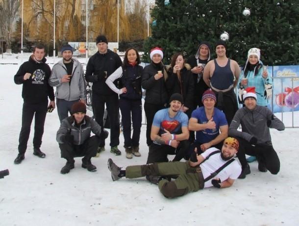 «Трезвая рать» Волгодонска устроила ежегодный новогодний «здравый флешмоб»