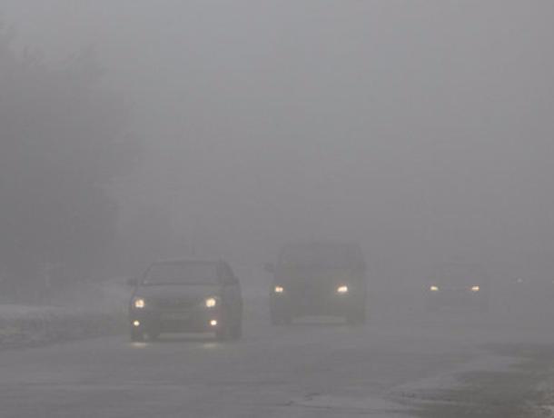 Под Ростовом движение пассажирского транспорта из-за тумана ограничили