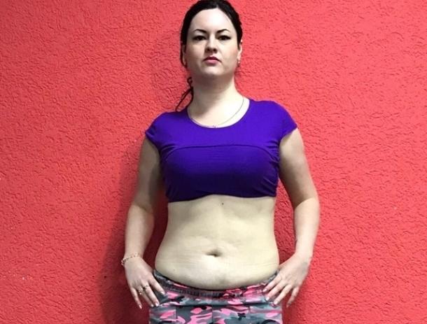 31-летняя мастер маникюра Ольга Калашникова - четвертая участница «Сбросить лишнее»