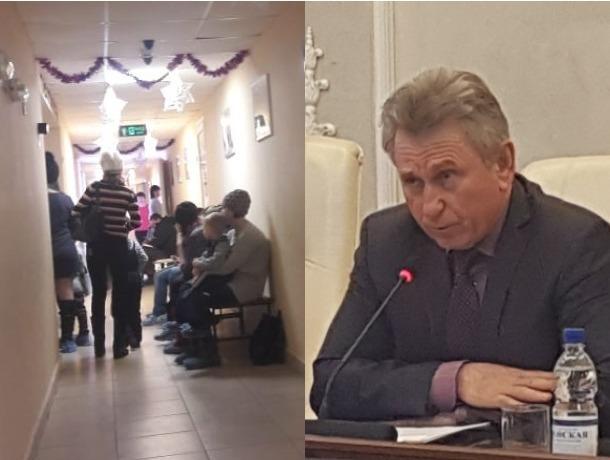 Большие очереди в поликлиниках, рост заболеваемости гриппом и ОРВИ: как в Волгодонске прошли новогодние праздники