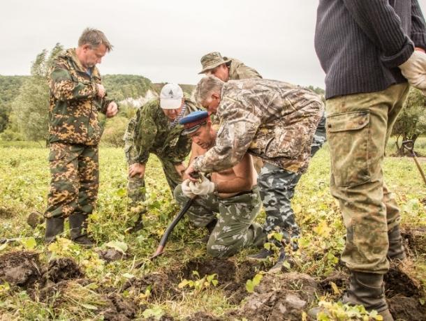 Поисковики волгодонского отряда «Родник» приняли участие в Вахте Памяти