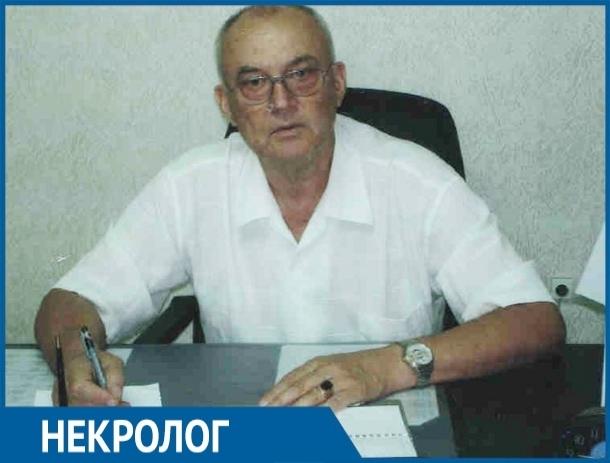 Ушел из жизни основатель футбольной команды «Атоммаш» Юрий Чеботарев