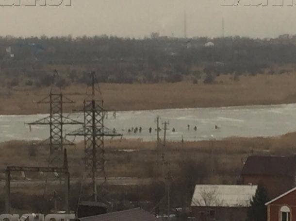 Любителей зимней рыбалки в Волгодонске предупреждают об опасности выхода на лед в период ледостава
