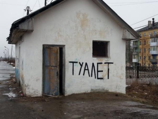 Сходила со страхом: Жительница Зимовников едва не утонула в фекалиях рыночного туалета