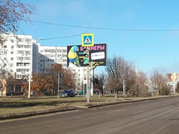 Кнопочный светофор на Курчатова перевели на круглосуточный режим