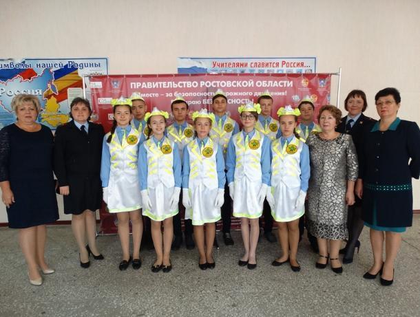 Юные инспекторы движения из Волгодонска представят город на региональном этапе конкурса в Ростове-на-Дону