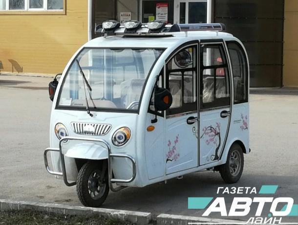 Маршрутки «Волгодонск-Романовская» заменят моторикши?