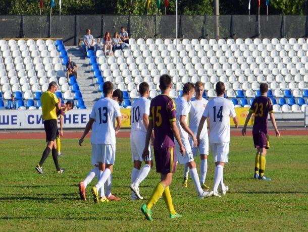 ФК «Волгодонск» одержал победу над командой из Шахт