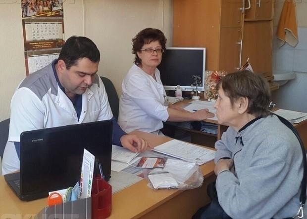 В Волгодонске состоялся очередной выездной прием специалистов федерального уровня