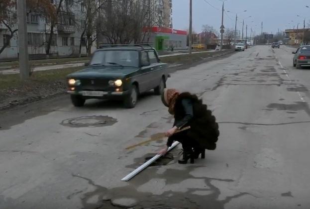 «Ямы-убийцы» поджидают автомобилистов на дорогах Волгодонска