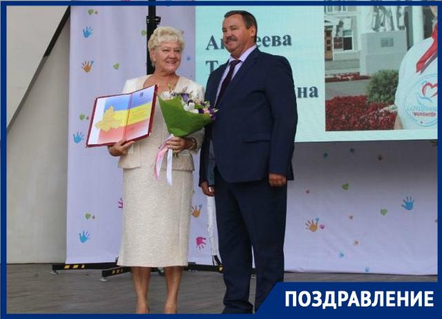 «Серебряный волонтер» Тамара Андреева из Волгодонска получила благодарственное письмо губернатора