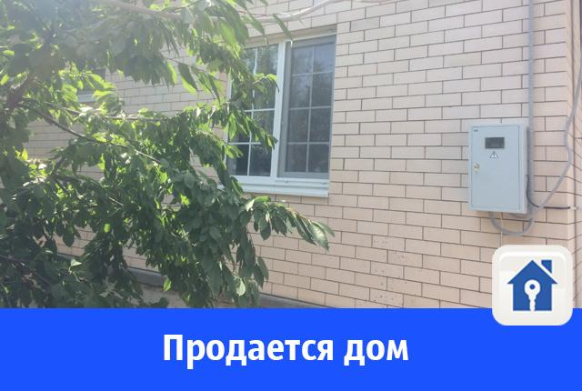 Половину дома продают в Волгодонске