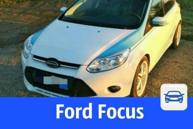 Форд фокус частные объявления копаем колодцы доска объявлений
