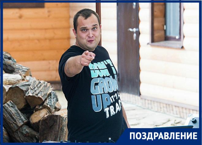 DJ Михайлов отмечает День рождения