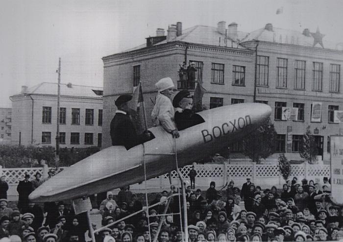 Волгодонск прежде и теперь: школа №7 и «маленький Гагарин»