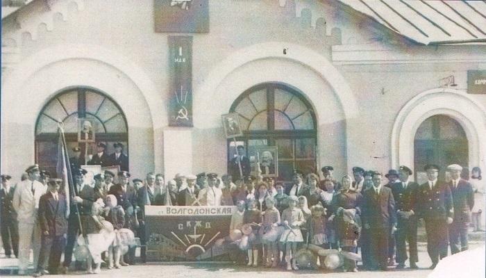 Поезд едет в Волгодонск