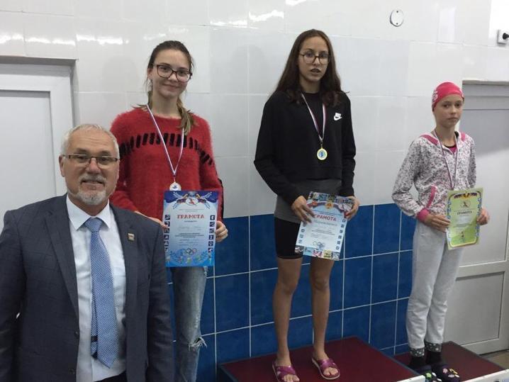 В Волгодонске подвели итоги Кубка города по плаванию