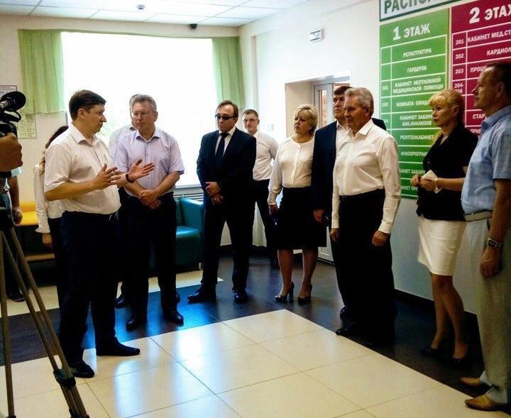 Мэры ряда городов Ростовской области посетили «Бережливую поликлинику» в Волгодонске