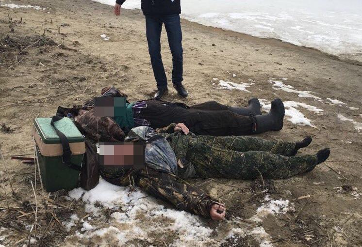 Два рыбака утонули в Волгодонске, провалившись под лед в районе «Казаков»