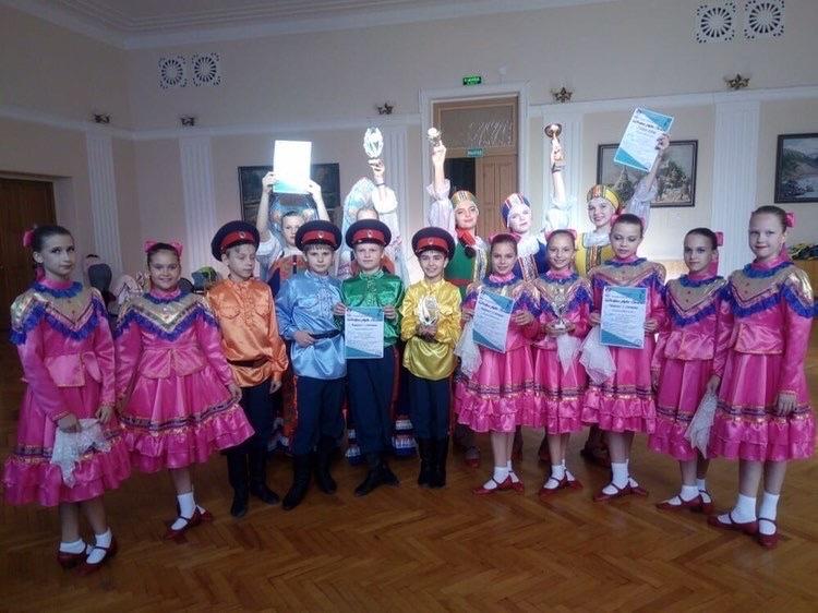 Волгодонские танцоры привезли россыпь наград с конкурса «Добрые звуки земли»