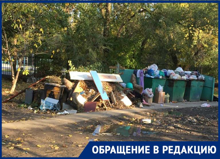 «Горы мусора и слякоть по колено»: как живут волгодонцы на Ленина
