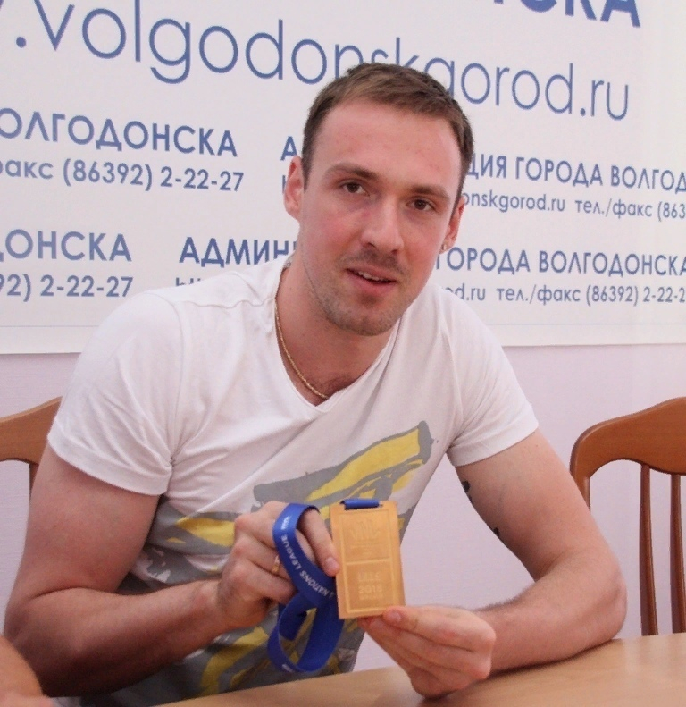 В Волгодонск приехал игрок национальной сборной по волейболу Игорь Филиппов