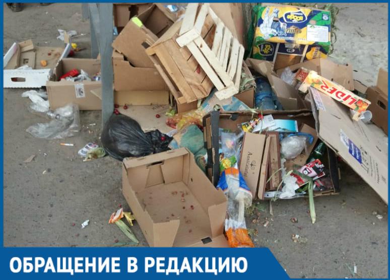 Мы живем, как на свалке, - жители дома №64 по Морской