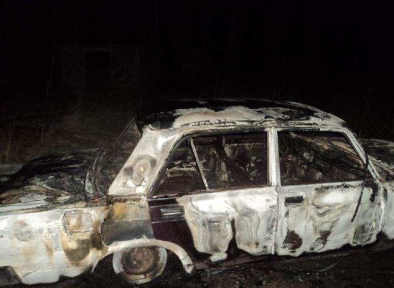 Ночью в Волгодонске сгорел очередной автомобиль