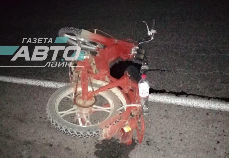 28-летний волгодонец на мопеде попал в серьезную аварию по дороге в Цимлянск