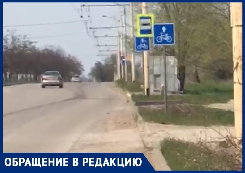 «Спецтехника не добралась до велосипедной дорожки на В-9»: волгодонец