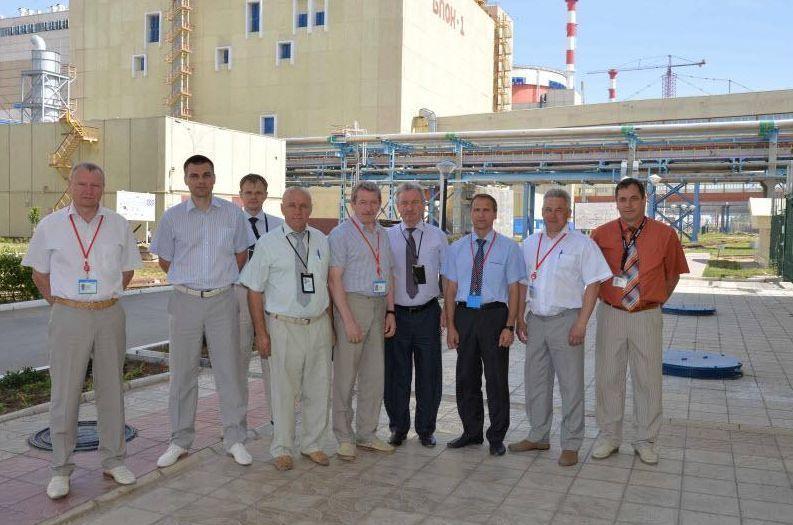 Александр Бубнов побывал на Ростовской АЭС