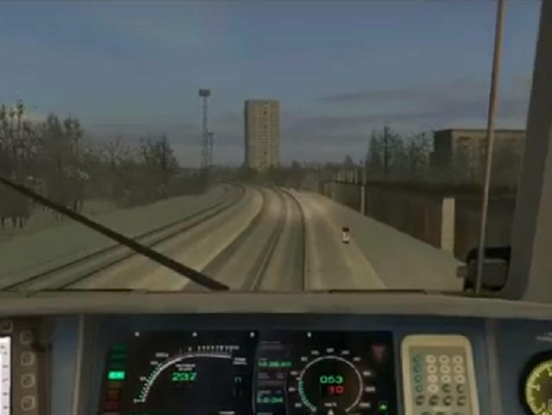 Пассажирский поезд через Волгодонск запустили в железнодорожном симуляторе
