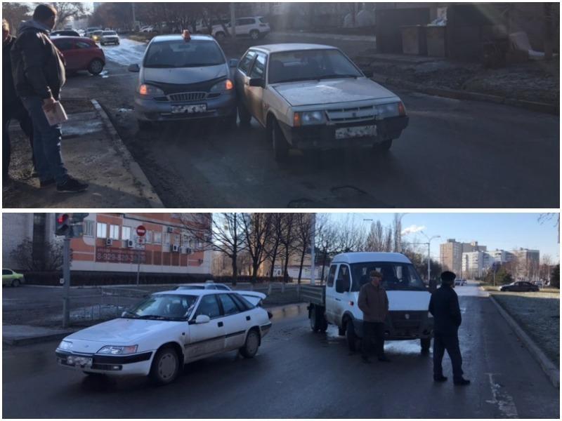Утренний гололед спровоцировал ряд ДТП в Волгодонске