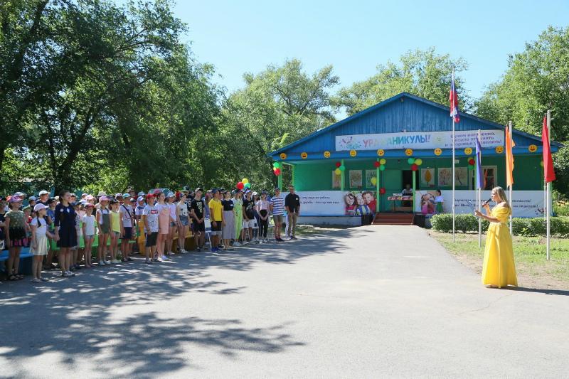 В волгодонском оздоровительном центре «Ивушка» открылась первая смена